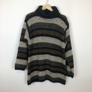 Lord & Taylor vintage turtleneck chunky sweater M